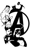 Avengers Tshirt design by JPurcell