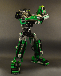 Kenny 1.3 Mech mode plasma cannon by SteamNewt
