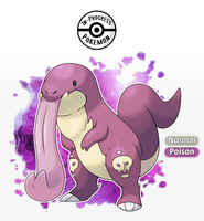 Lickitox - Lickitung Alternate Evolution