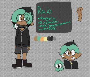 Raio the inkling  by cannon-inky