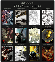 2015 Summary of Art by ensoul