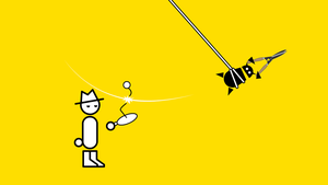Zero Punctuation Paddle Ball by sinned2bsaved