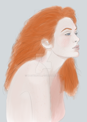 Ginger Portrait by Wasterbull