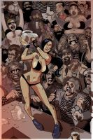 COLORS Zombie Tramp ISSUE 5 cover by jasinmartin