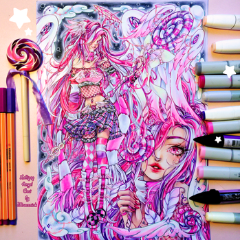 +~+ Lollipop Angel Ceci +~+ coloring video by MroczniaK