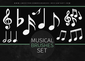 Musical Symbols | Brushes by sweetpoisonresources