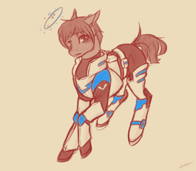 Space boy by PonetteDeFeu
