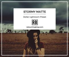 $1 Dollar Lightroom Preset - Storm Matte by RetouchingBlog