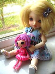 Doll With A Doll by FluteyPie