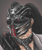 Kabal -Mortal Kombat- by brucestache