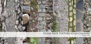 Stone Texture Pack- Cold Color by Esther-Sanz