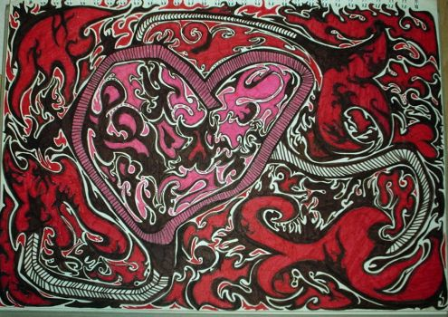 heart thingy by EvilVampQueen
