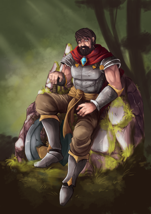 Old Warrior by Gotetho