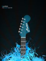 The Blue Guitar by Ma7eo0