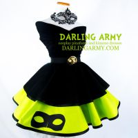 Chat Noir Miraculous Ladybug Cosplay Skirt by DarlingArmy