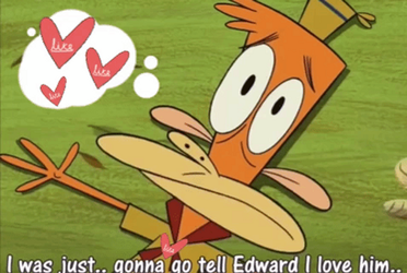 Lazlo Wants to confess His Feelings to Edward by Zim-BringerOfDoom