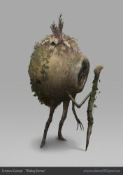 'Walking Burrow' - Creature Design by AntaresValdemar