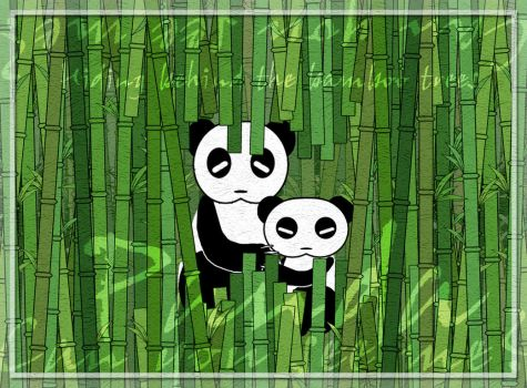 Within the Bamboo Forest by allacoste