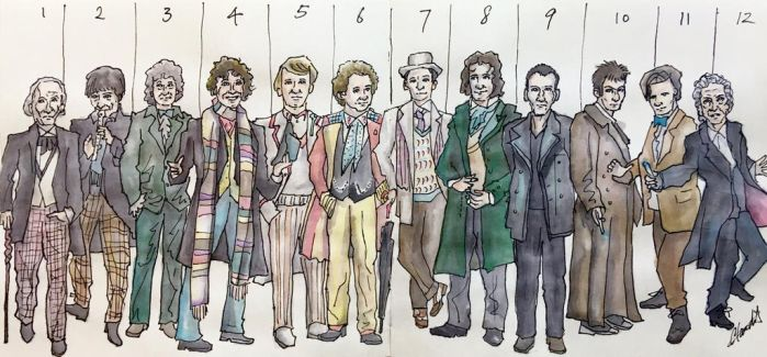12 Doctors - All On board! by LEPcommander