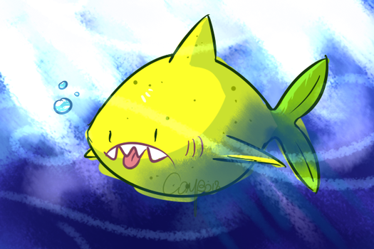 Lemon Shark by CombotheBeehen