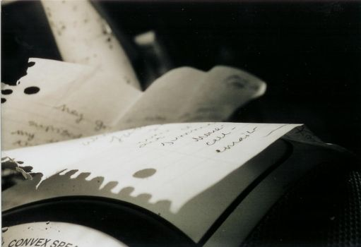 letters on a page by ReminiscentScreams