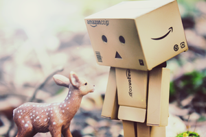 bambi meets danbo by KIRSTIEisHERE