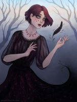 Black feather by arnaerr
