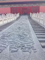 Stairs into the forbidden city by dclee