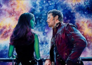 Guardians of the Galaxy- Keep on Hoping by Kelii