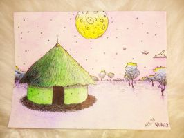 Space Hut. by Noah-Kirkpatrick