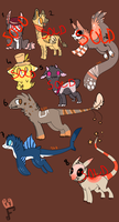 Point Adoptables Batch .:OPEN:. by crowrley