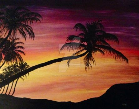 Tropical Serenity by JasonOdellArt