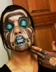 Psycho Makeup by BevanMaria