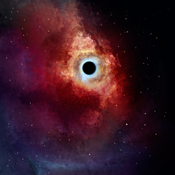 Just a black hole by Empoh