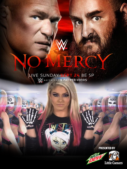 WWE No Mercy (2017) Custom Poster by pm58790