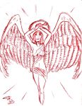 Angel for Claire-Emmanuelle by FG-Arcadia