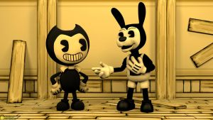[SFM BatIM 4K] The two best pals by AwesomeSuperSonic