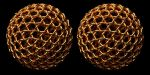 Geodesic Gold Weave by TaffGoch