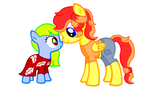 Lilo Sketch and Nani Pedley by SummerSketch-MLP