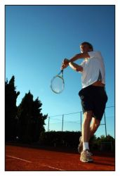 Motion and Colors in Tennis by govdo
