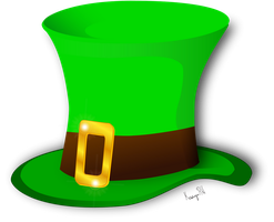 Vector Irish Hat by KarynRH