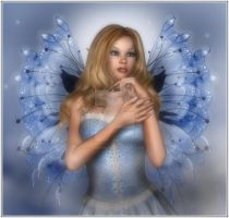 Angel Fae in Blue by CaperGirl42