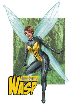 Wasp Commission by GeekyWhiteGuy
