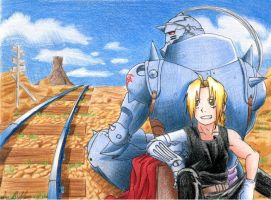 FMA - The Winding Road by RedDestiny