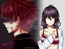 [Diabolik Lovers OC] Pain by MariYumiSan