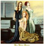 The Three Graces by Shaelynn