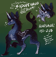 COLLAB ADOPT! Flat sale!! by asctrofox