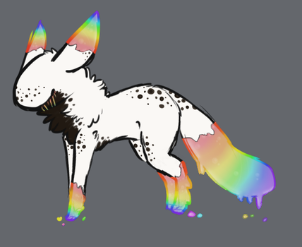 Cookies N Cream N Rainbows by TheseWeirdFishes