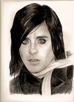 Jared Leto Portrait by Jessica59874