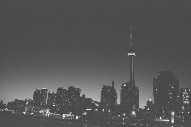 The Toronto Skyline As Seen From Harbourfront by Neville6000